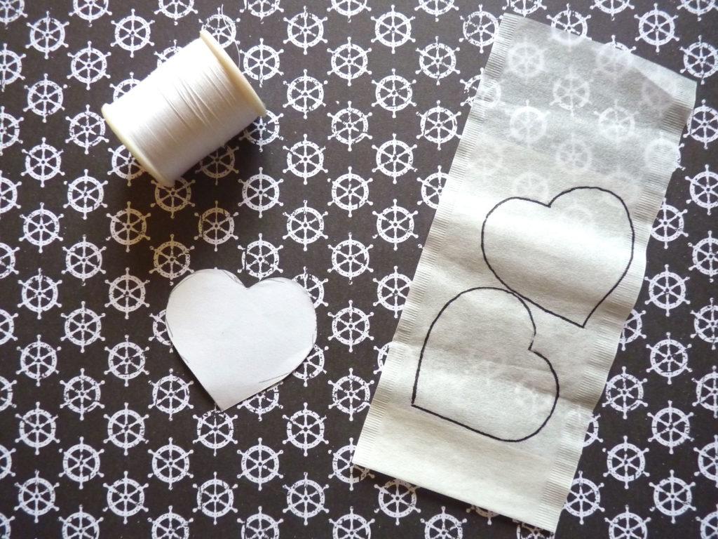 Teebeutel Selber Machen Süße Teebeutel Herzen Als Last Minute