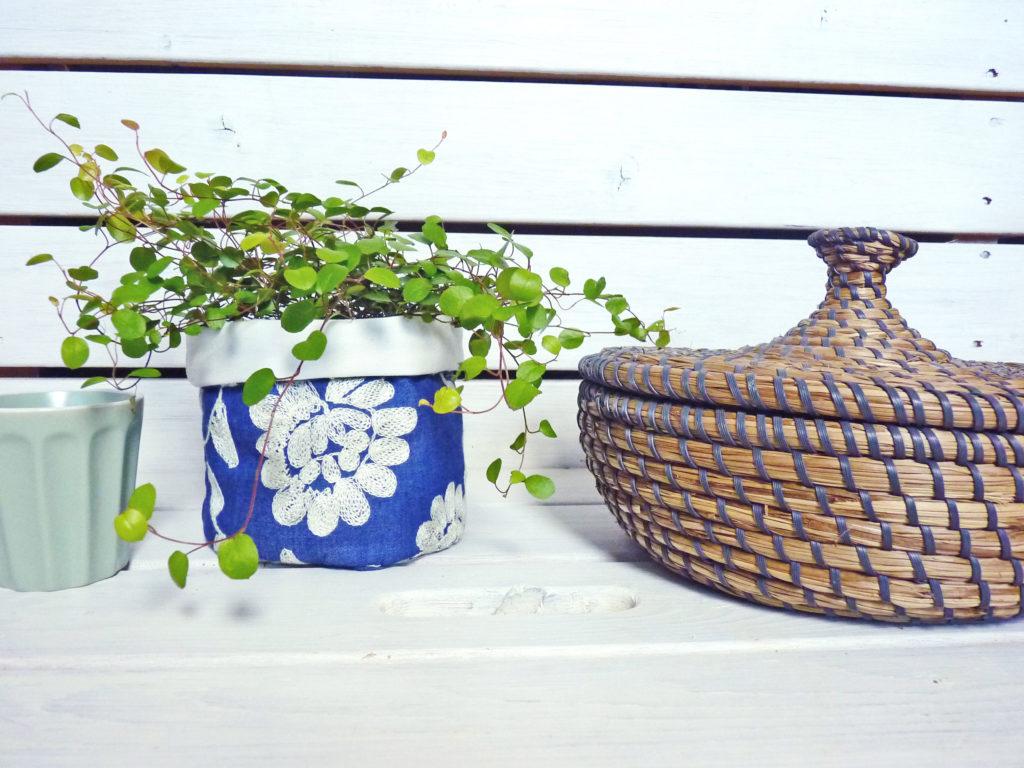 Utensilo als Pflanzenkorb