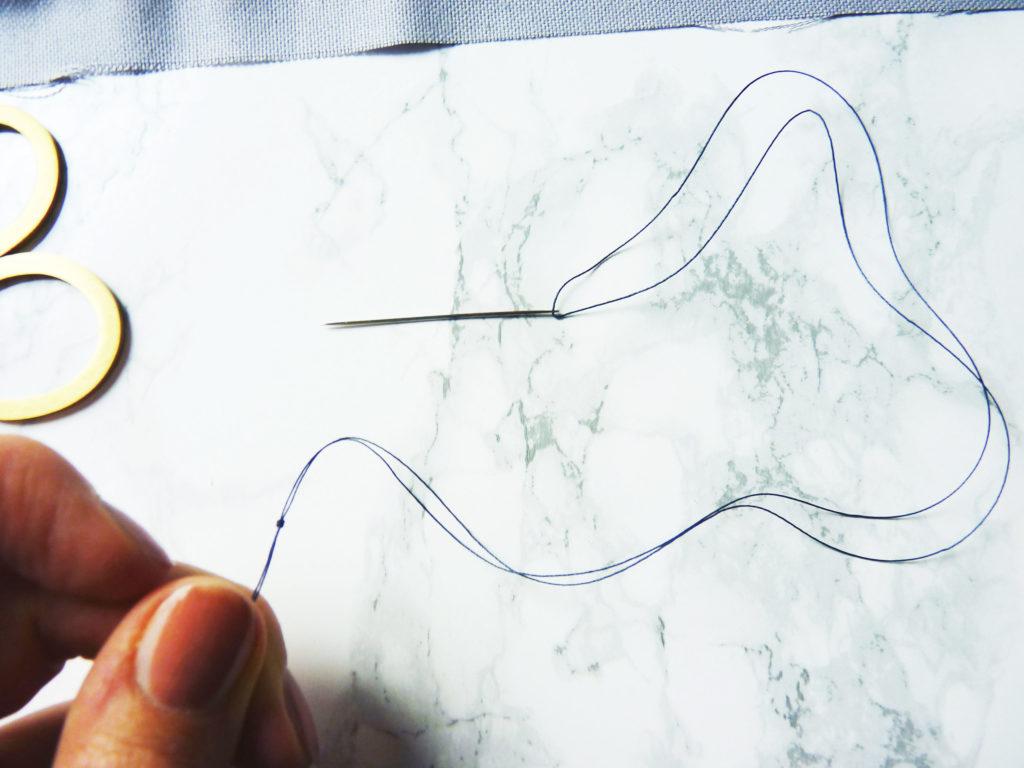 Matratzenstich Knoten
