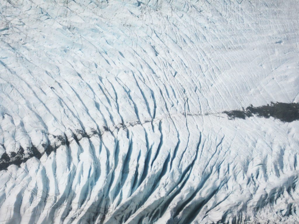 Franz Joseph Glacier von oben