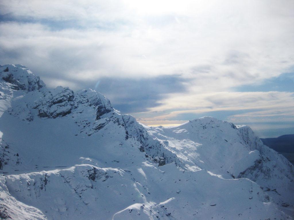 Auf dem Gletscher Ausblick