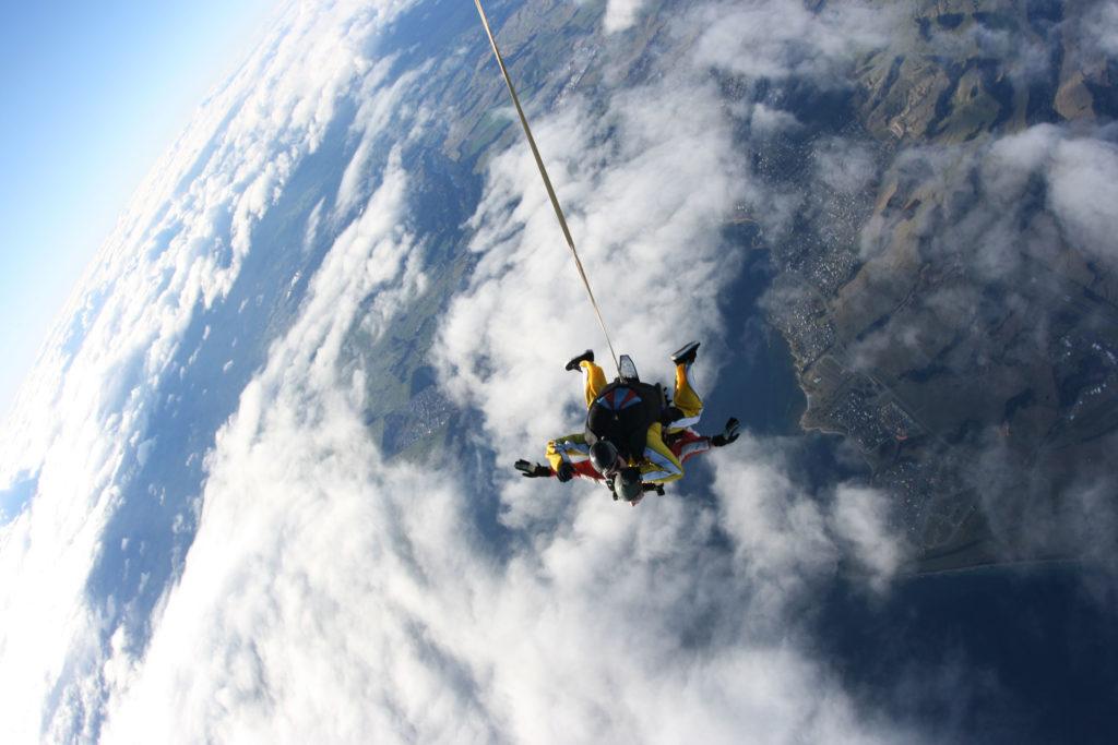 Skydive Erfahrung Lake Taupo