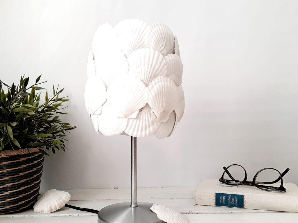 Muschel Lampe DIY Deko