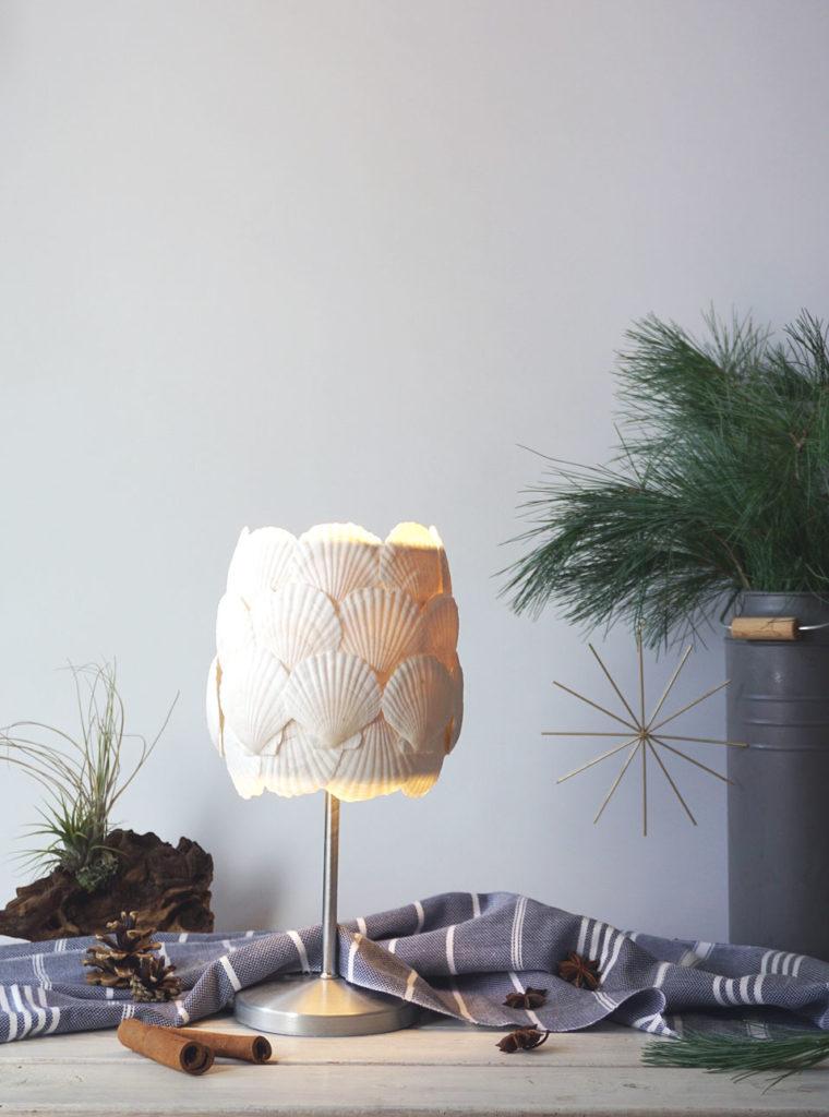 Muschel Lampe - alle Muscheln