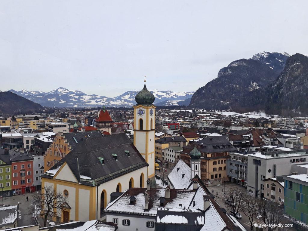 Panorama Blick Kufstein
