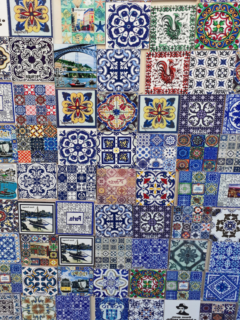 Azulejos Muster
