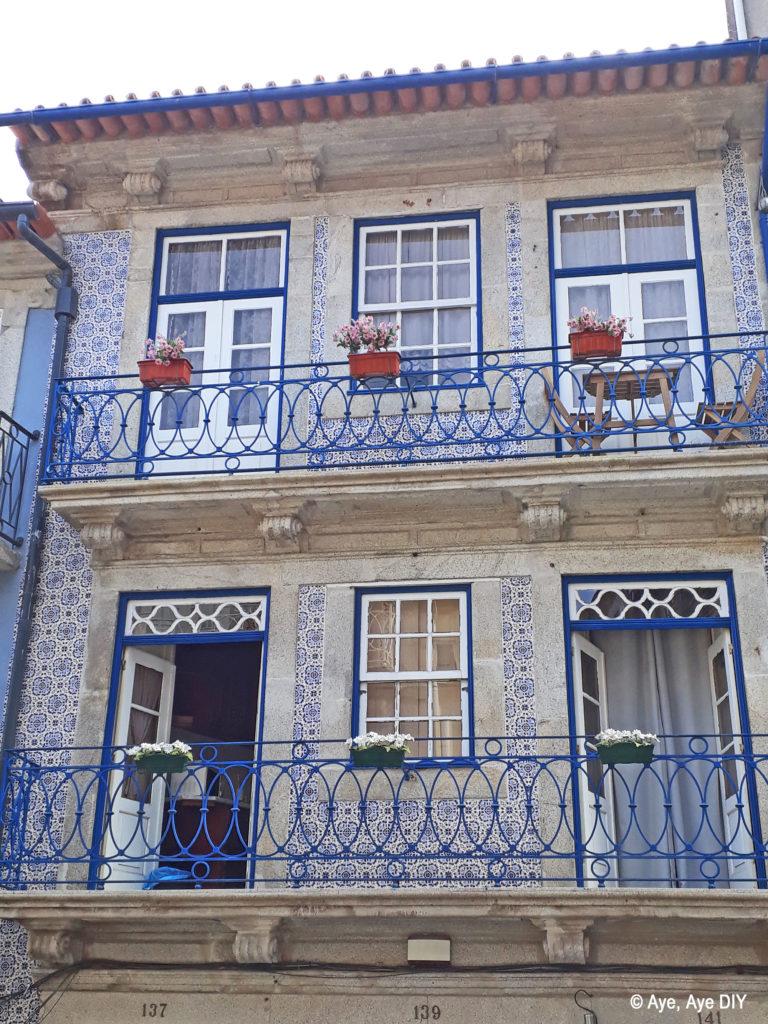 Portugiesisches blaues Haus