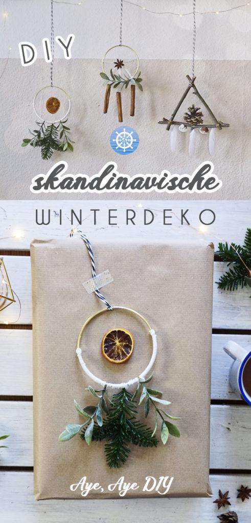 Pinterest Pin - Skandi DIY Deko auf Pinterest merken