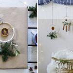 Scandi Weihnachtsdeko basteln