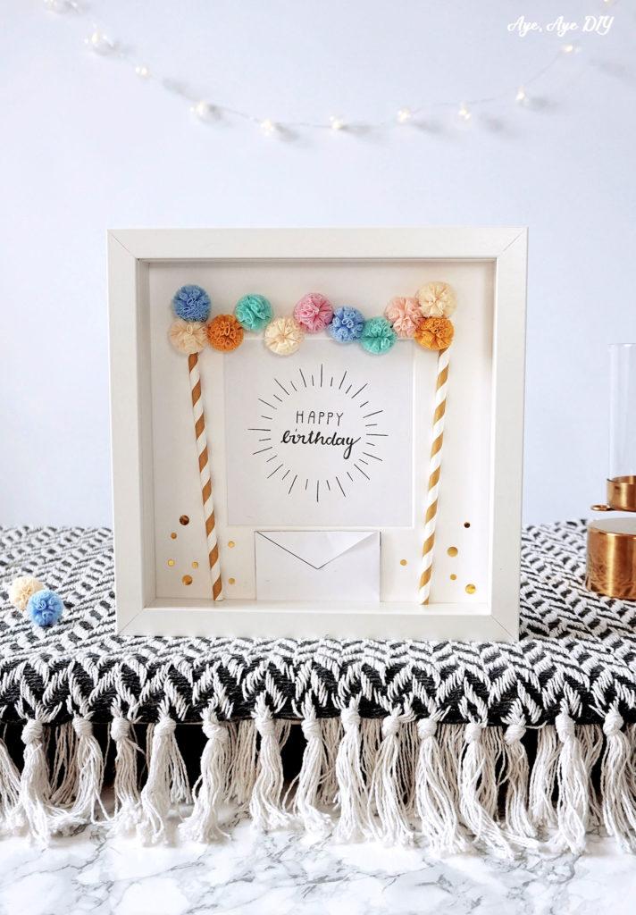 Happy Birthday Geldgeschenk