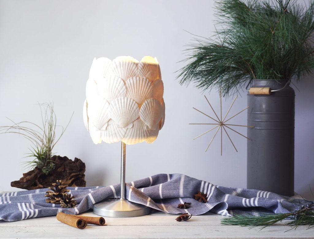 Muschel Lampe DIY