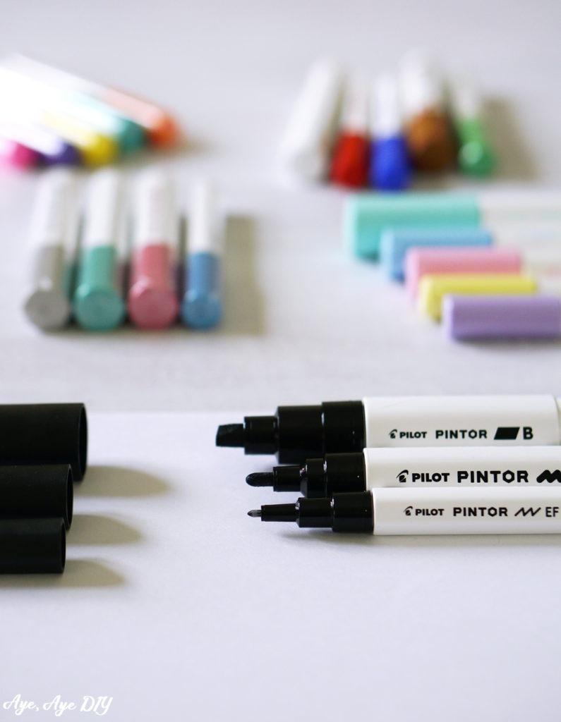 Pintor Stifte in verschiedenen Farben und Stärken