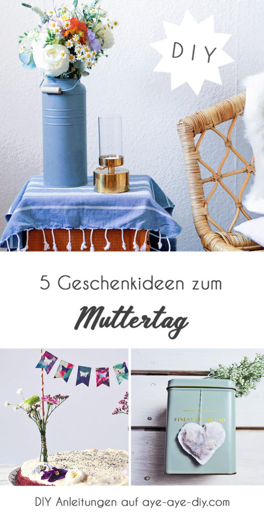 Pinterest Pin zum Muttertagsgeschenkideen merken