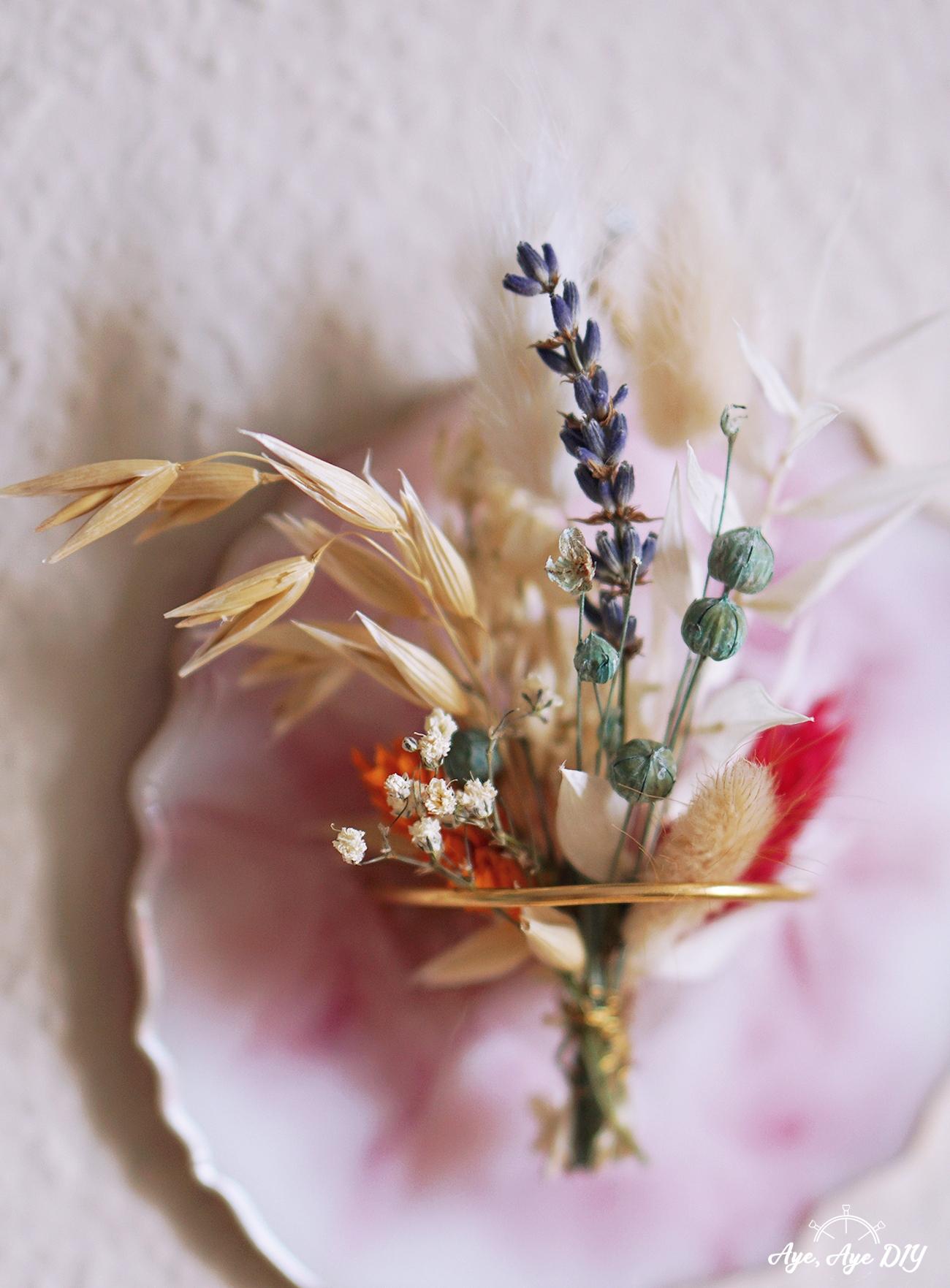 Resin Art Untersetzer Epoxidharz mit Trockenblumen