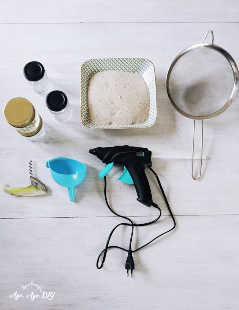 Sanduhr selber bauen - welche Materialien brauchst du?