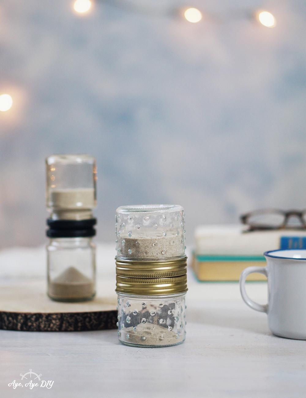 Sanduhr selber bauen: Altglas Upcycling – Mee(h)r Zeit für dich