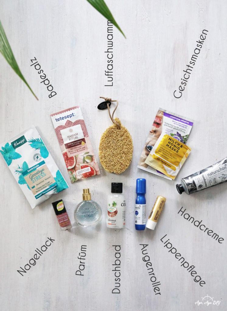 Wellness im Glas - welche Beautyprodukte passen zu diesem Geschenk?