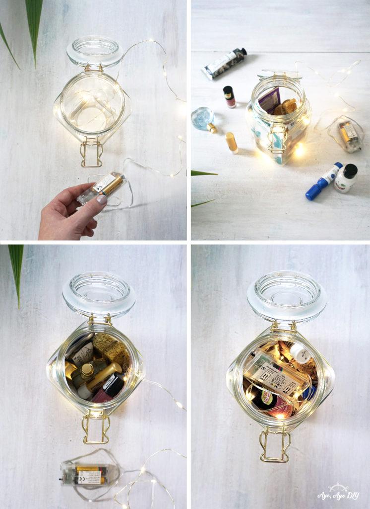 Wellness im Glas DIY Anleitung