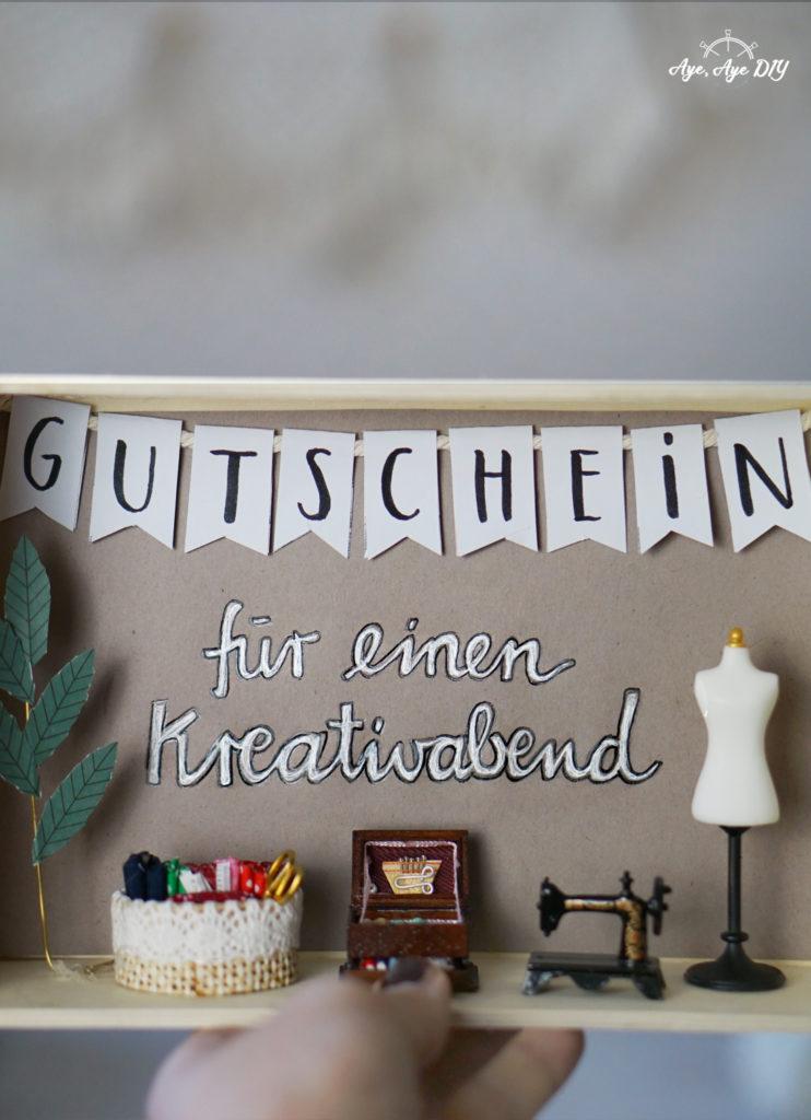 Ergebnis: DIY Geschenk für die beste Freundin Gutschein