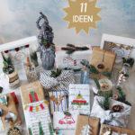 Geschenke nachhaltig verpacken 11 Ideen für Weihnachten