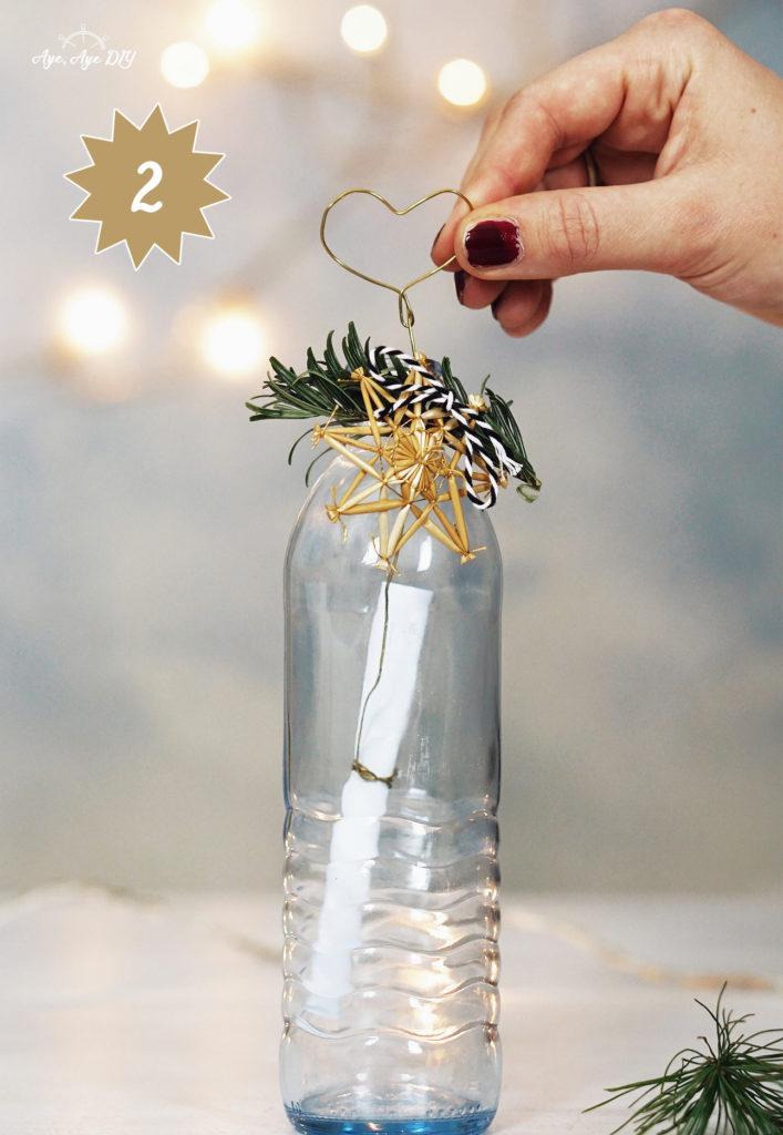 Gutschein als Flaschenpost verschenken - Upcycling Altglas