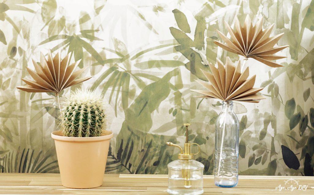 DIY Palmenblätter für Urban Jungle Feeling zuhause