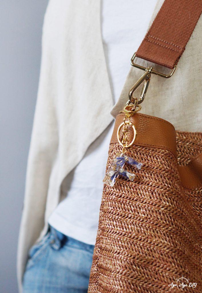 Resin Art Schlüsselanhänger Accessoire an der Tasche