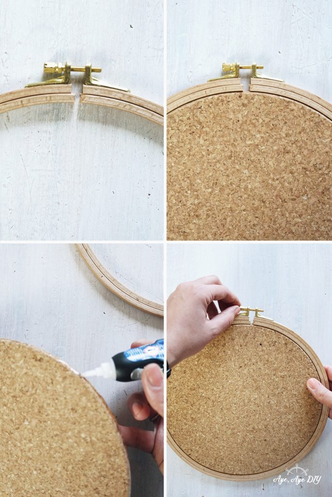 Garnrollenhalter Wand selber machen