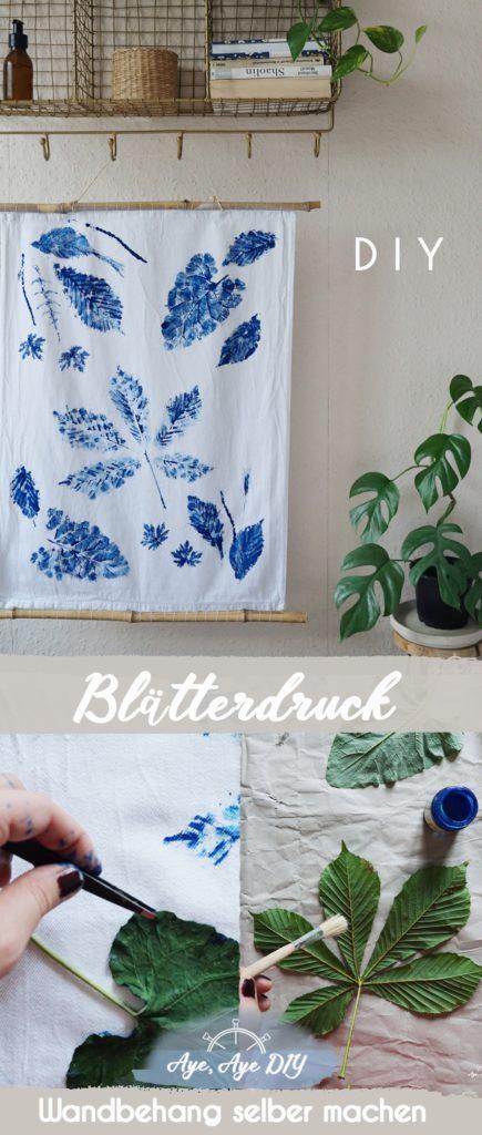 Pinterest Pin: Merke dir die Blätterdruck Idee auf Pinterest!