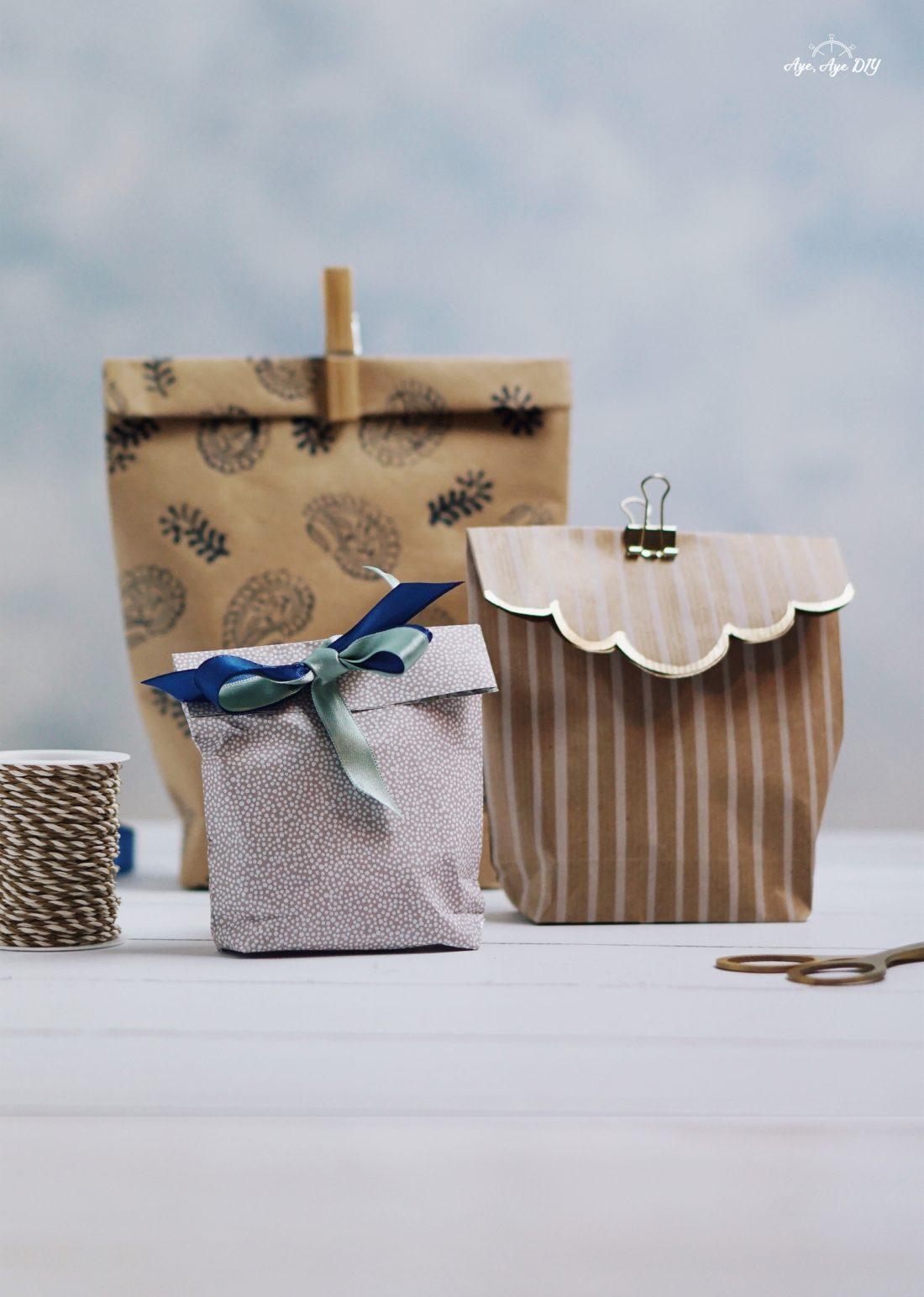 Geschenktüte basteln in nur 5 Minuten