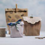 Geschenktüte basteln Geschenke verpacken Anleitung
